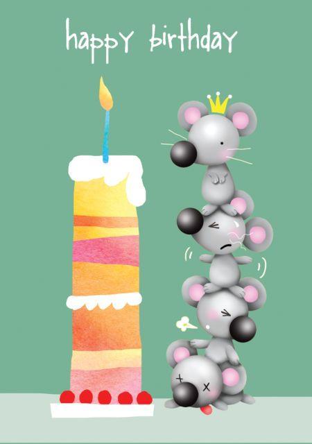 Liz Yee - Birthday Mouse
