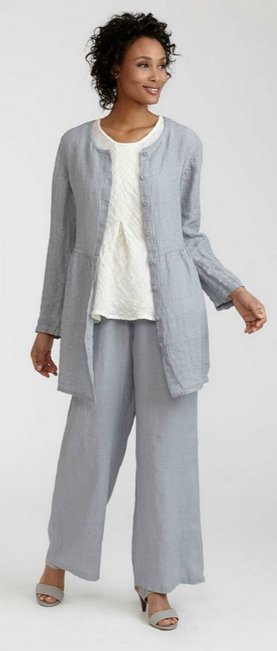 Flax Clothing Clearance | linen clothing and all cotton clothing: Cinch Cardigan, FLAX CLEARANCE ...