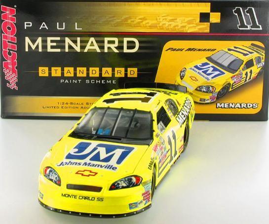Paul Menard #11 Menards/Johns Manville 2006 Monte Carlo SS