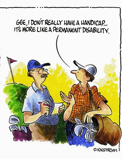 Love Golf? Join the Honourable Society of Golf Fanatics. You'll Love Us. golffanatics.org (Scroll to the bottom of the home page and sign up for our Blog)