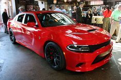 2015 Dodge Charger SRT Hellcat revealed [UPDATE] 707 Horsepower Now Available With Four Doors And 204-MPH Top Speed