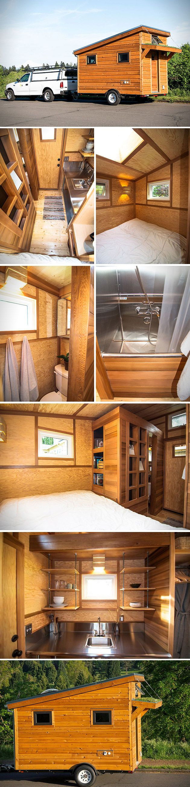 The team at Shelter Wise has something to say about that, as they roll out their affordable Salsa Box tiny home on wheels for all the adventurers out there.   Whether you're looking to set up a nice home away from home, or rebuild your life completely off the grid, this is the solution for you. The Portland based company has introduced energy efficient houses that can easily be attached to any trailer hook.