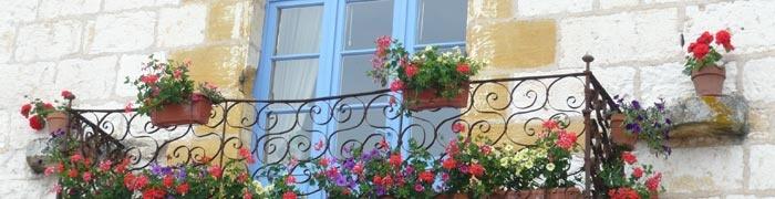 Balcony in Monpazier