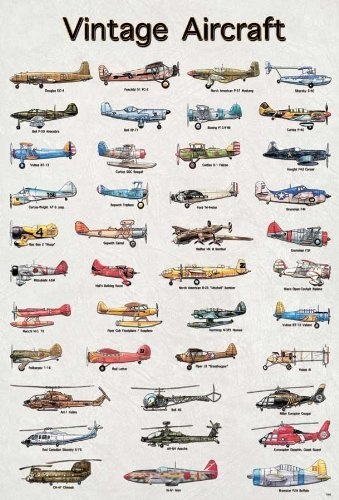 "Model Vintage Airplane Aircraft Army Air Poster Photo Décor Wall Paper Rare 24x34"" by MOMATA, http://www.amazon.com/dp/B00CLO91GM/ref=cm_sw_r_pi_dp_irLSrb0EPWP52"