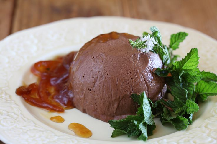 Chocolate and Vino Cotto Parfait with Marmalade Syrup - Maggie Beer