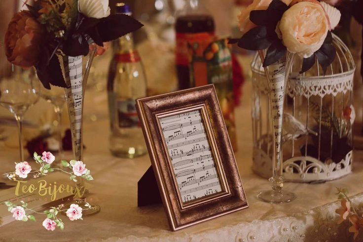 Decoratiuni nunta, eveniment tematic Music ..till the end of love #decoratiuni_nunta #wedding #bridal #TeoBijoux #wedding_planner