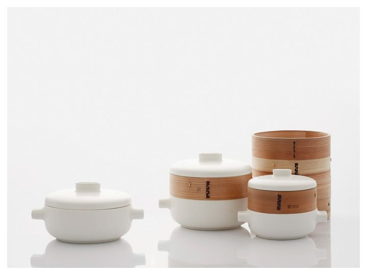 Steamer Set Designed by Office for Product Design for JIA Inc.