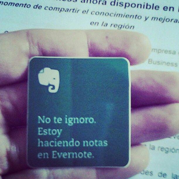 #Evernote #Tecnología
