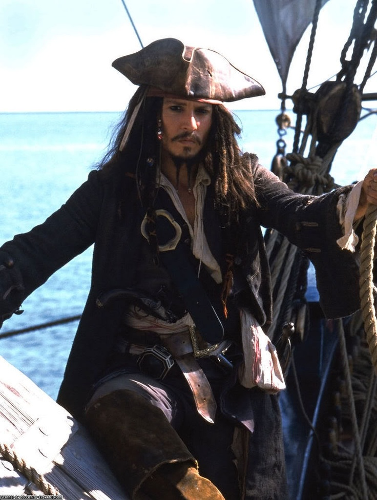 Captain Jack Sparrow :)