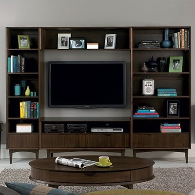 Charlbury - Entertainment Unit (Walnut)