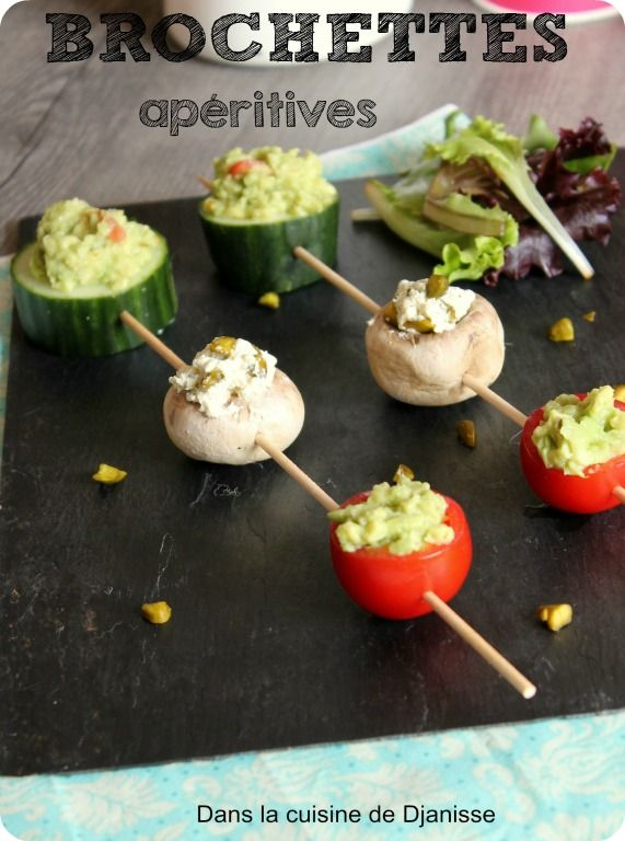 1000 ideas about brochettes ap ritives on pinterest mini brochettes ap ritives bouch es - Mini bouchees aperitives froides ...