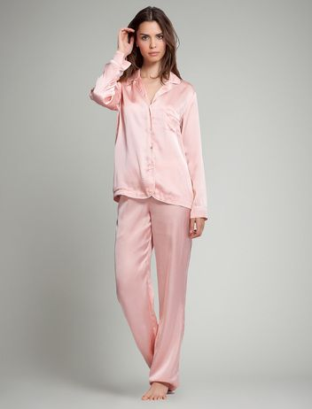 women'secret | Lencería nuevo | Pijama largo estilo masculino de satén