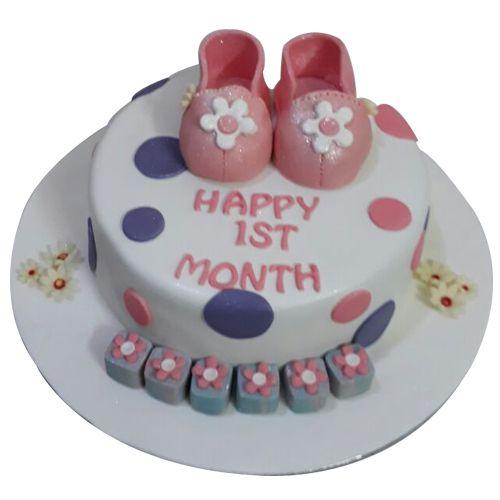 Order #BabyGirlFirstBirthdayCake from #Faridabadcake & enjoy your entire day. #CakeforNewbornbaby #Babygirlfirstbirthday