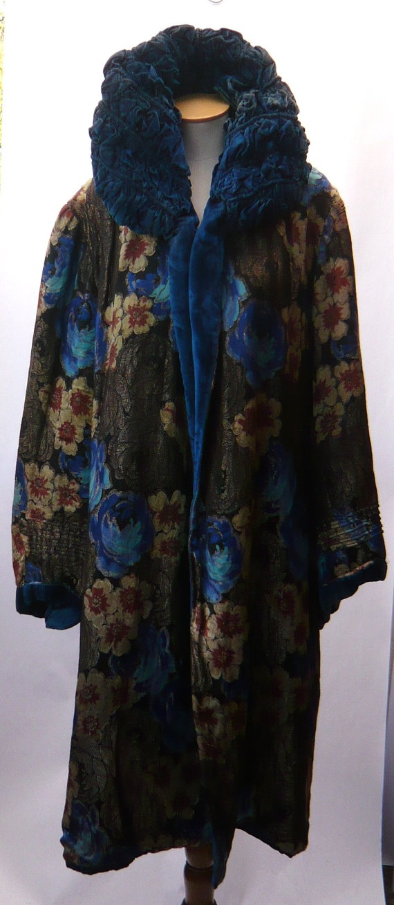 1920'S Lame Opera Coat by MayCottagePrints on Etsy, $1020.00