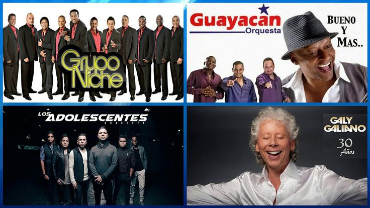 EL MEJOR MIX DE SALSA ROMÁNTICA Grupo Niche, Galy Galiano, Orquesta Guay...
