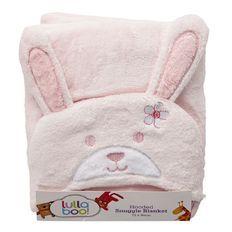 Lullaboo Hooded Snuggle Blanket Girls
