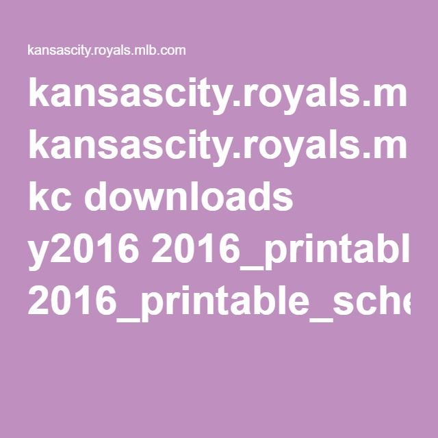 kansascity.royals.mlb.com kc downloads y2016 2016_printable_schedule_tv.pdf