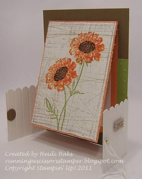 Field Flowers Playing by hlw966 - Cards and Paper Crafts at Splitcoaststampers
