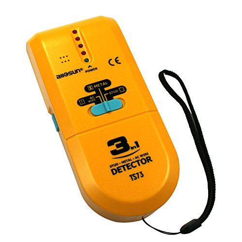 awesome all-sun 3 in 1 Metal Detector LED Wood Stud Finder AC Wire Tracker
