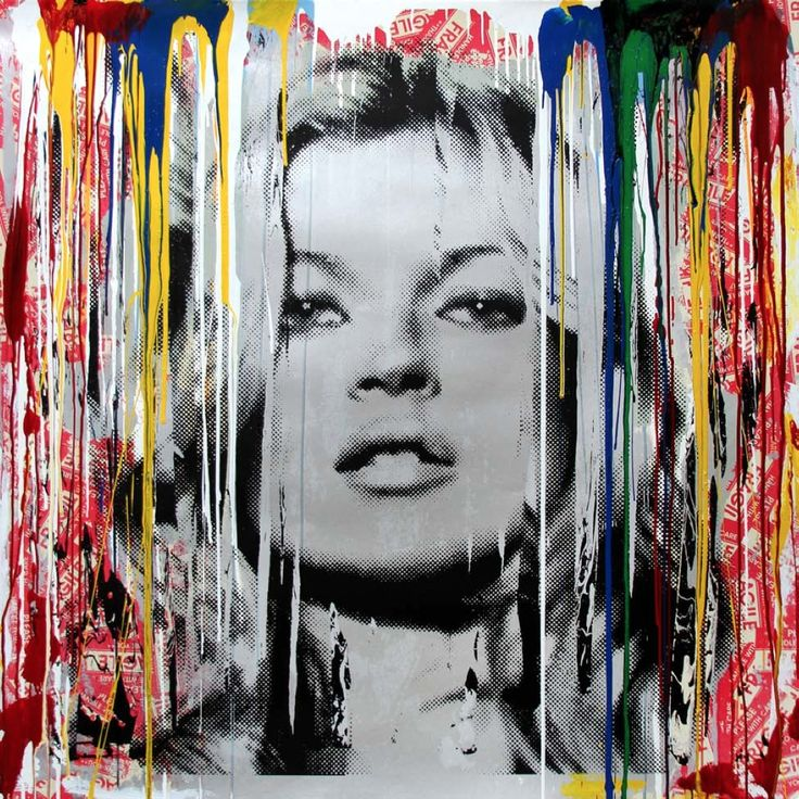 45 best mr brainwash images on pinterest mr brainwash for Mural mr brainwash