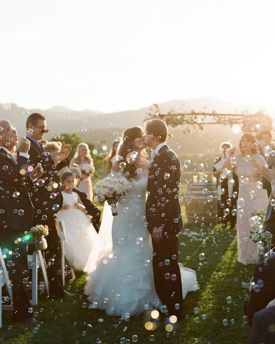 Sparkler Wedding Photo See More No Rice Problem Alternative Send Off Ideas