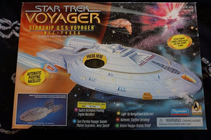 Voyager Vintage Playmates Star Trek Voyager Starship USS NCC-74656 Mint in Sealed Box by PlanesChasers on Etsy https://www.etsy.com/uk/listing/552991561/voyager-vintage-playmates-star-trek