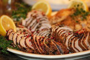 Till buffé passar kallskuret kött utmärkt. Blanda gärna olika sorters kött såsom fläskfilé, ytterfile, kycklingfilé, kycklingklubbor, tjälknöl, rostbiff etc etc. På min italienska buffé hade jag två s