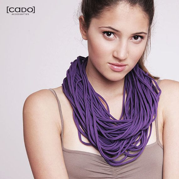 Zamotki Jersey Necklace Loop scarf infinity by CADOaccessories