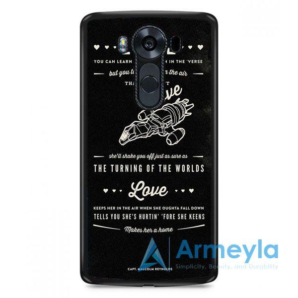 Firefly Serenity Quotes LG V20 Case | armeyla.com