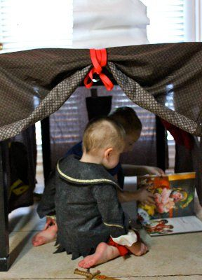 Make Your Own Kids Fort