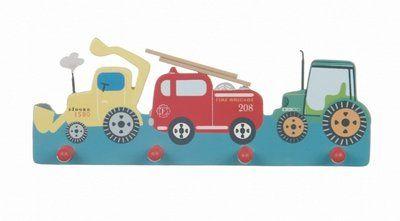 Peuterkapstok Transport wagens 4-knops