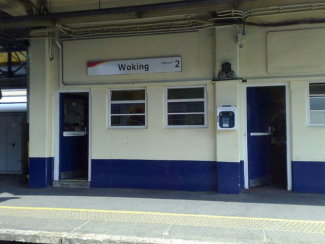 Woking Station #Woking