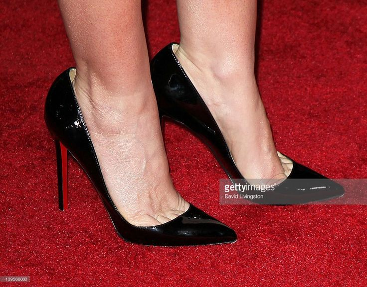Actress Lynn Collins (shoe detail) attends the premiere of Walt Disney Pictures' 'John Carter' at Regal Cinemas L.A. Live on February 22, 2012 in Los Angeles, California.
