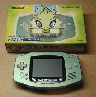 Game boy Advance Celebi Edition - it's so beautiful! :O