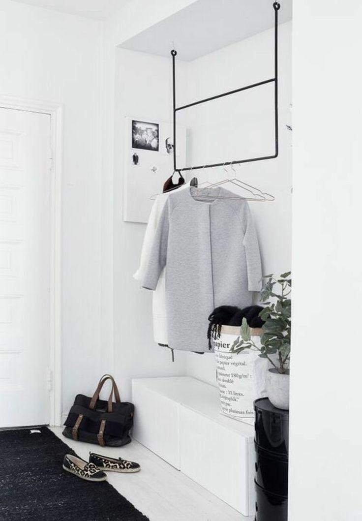 Die besten 25+ Garderoben Ideen auf Pinterest - esstisch rund losung platzmangel