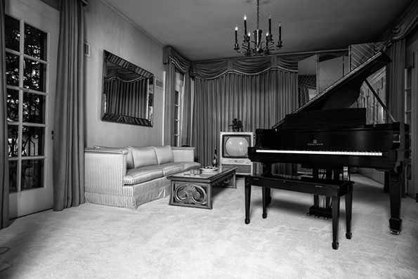 Elvis Presley's Memphis home Graceland photographed by Hedi Slimane