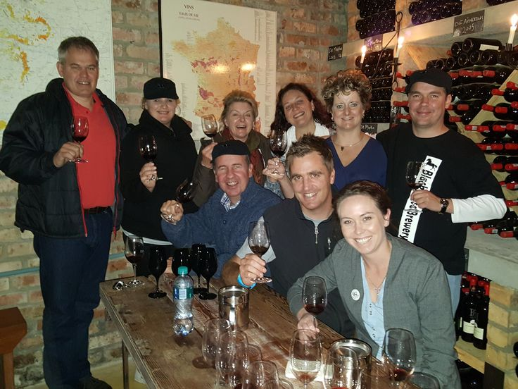Our agents doing a vertical tasting in our Vinoteek. Swartskaap 2007-2011, Die Arnoldus 2006-2010, Die Bartho 2009, Nr 5 2009 and Nr 7 2009...