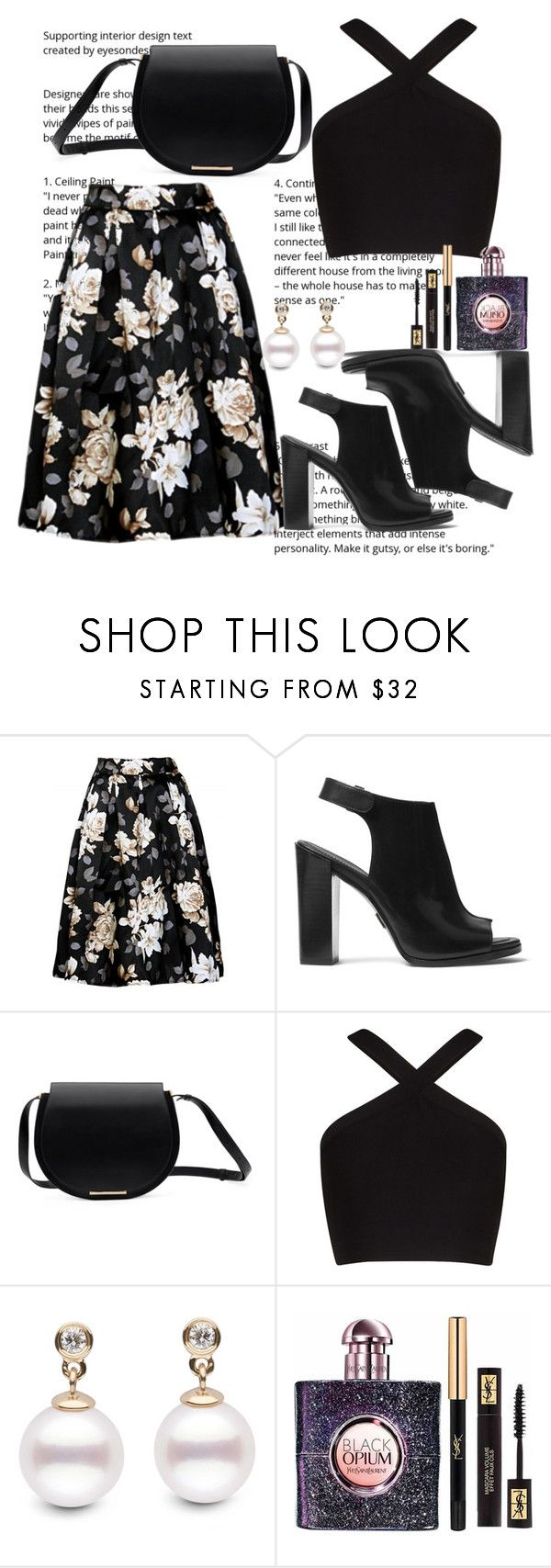 """""""Untitled #281"""" by ivana-j ❤ liked on Polyvore featuring Michael Kors, BCBGMAXAZRIA and Yves Saint Laurent"""