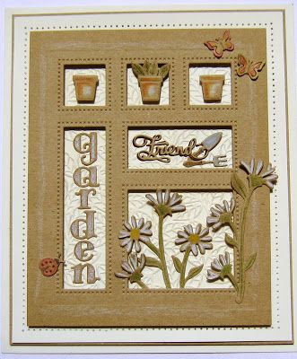 Hi bloggers!  The In The Garden Shadow Box die set is a great one to use for any of your friends that enjoy gardening as a hobby.  To.... 14/01/2017