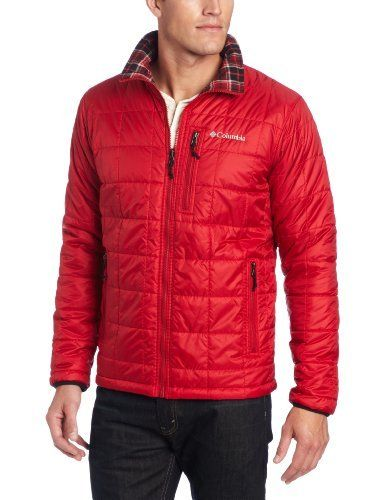 Shop  Columbia Men's Half Life Reversible Ii Jacket, Red Velvet, X-Large