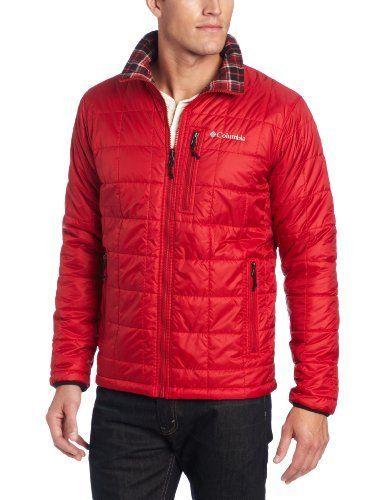Shop  Columbia Men's Half Life Reversible Ii Jacket, Red Velvet, X-Large