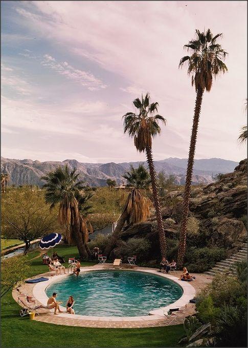 Tennis Club Pool, Palm Springs, California