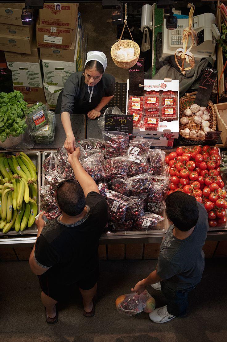 St. Jacobs Market Ontario. Fresh produce from Mennonite Farmers.