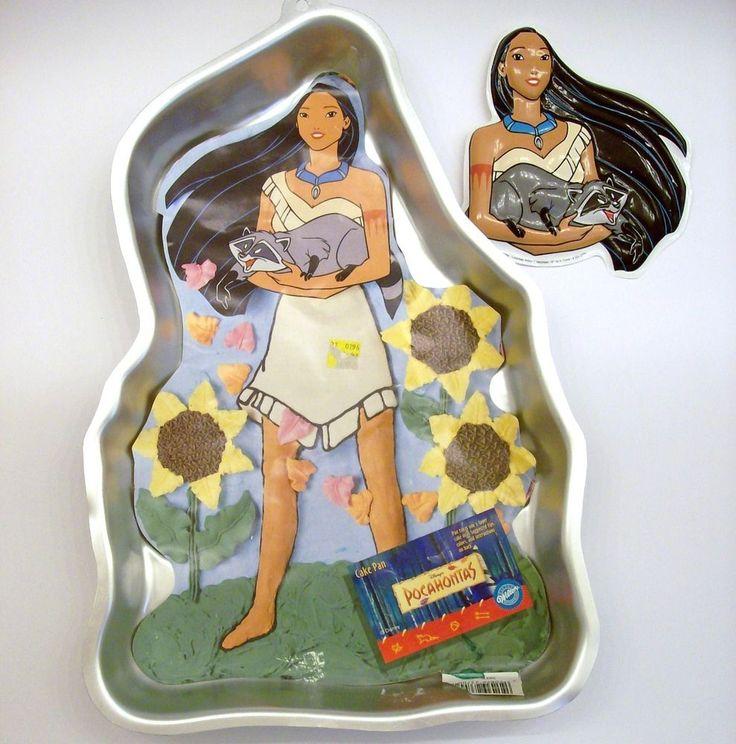 Pocahontas Cake Wilton