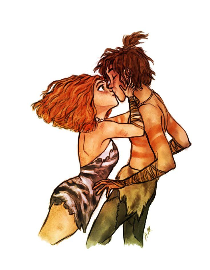 Eep and Guy's kiss