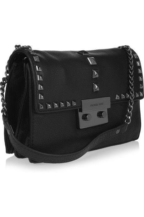 michael kors black side bag