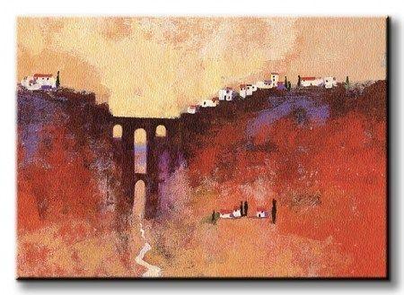 New Bridge, Ronda - Obraz na płótnie