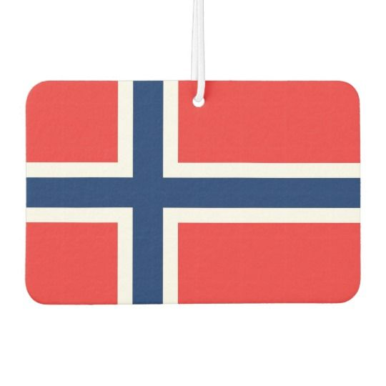 Car Air Fresheners with Flag of Norway