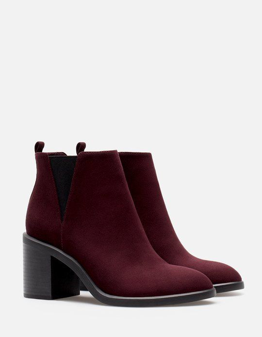 At Stradivarius you'll find 1 Elasticated high heel ankle boots for woman for…