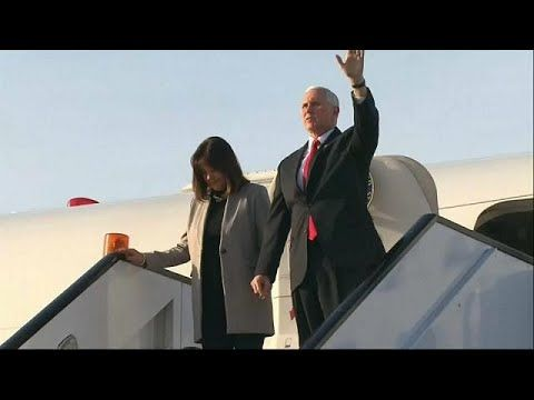 Mr Pence's trip to Egypt, the first leg of a Middle East tour, was marred by continuing anger over the US recognition of Jerusalem as Israel's capital last month.… READ MORE :  What are the top stories today? Click to watch:  euronews: the most watched news channel in E...